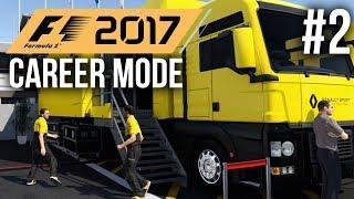 F1 2017 Career Mode Gameplay Walkthrough Part 2 - AUSTRALIAN GRAND PRIX - R&D TREE