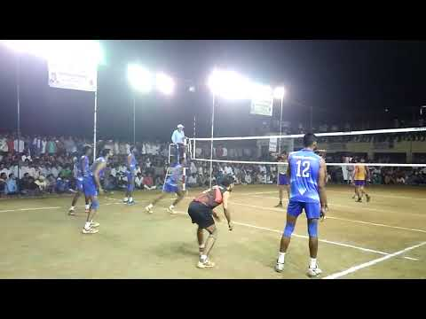 Kochin Vs Haryana final match volleyball tournament, bahsuma