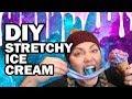 ✨DIY Galaxy Stretchy Ice Cream