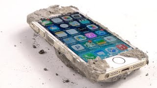 The Indestructible iPhone 5S - Made of Rock