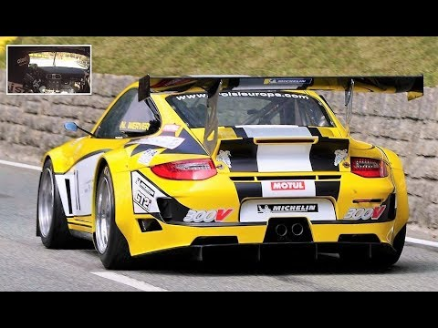 600+Hp Porsche 911 GT2    Onboard On The Limit 997 Twin Turbo Monster