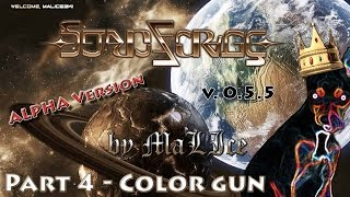 StarForge Alfa ver. 0.5.5 (STEAM Early Access) - Gameplay by MaLIce (Part 4 - Color Gun)