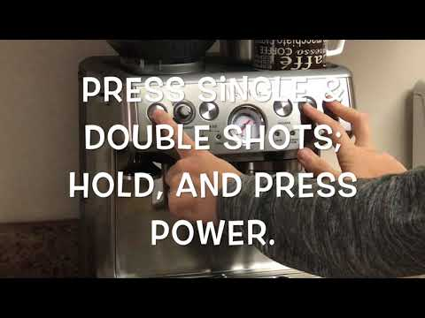 How To: Clean Breville Espresso Machine! [Clean Me] EASY & FAST!