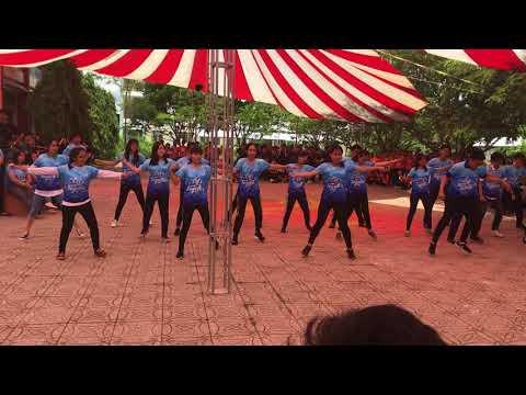 Đồng diễn (flashmob)   B1K6 THSP ĐHCT   NHVHTN 19/05/2018