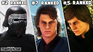 ALL 22 STAR WARS BATTLEFRONT 2 HEROES AND VILLAINS RANKED FROM WORST TO BEST (UPDATED 2020)