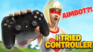 FAZE H1GHSKY1 SWITCHED TO CONTROLLER AND USED AIMBOT