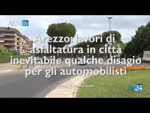 Via Benedetto da Maiano, partiti i lavori. Quali le conseguenze per il traffico aretino - VIDEO