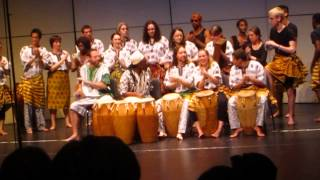 Crane School of Music-West African Drum and Dance Ensemble