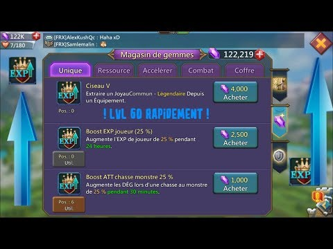 [TUTO] MONTER LVL 60 RAPIDEMENT 👍 [LORDS MOBILE]