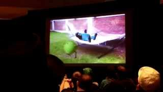 Crowd Reaction of Monster's Inc, (Fan Film) - YouTube Hell at SGC 2014
