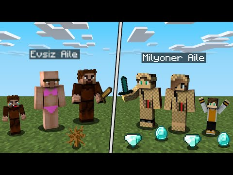 ZENGİN FAKİR FİLMİ Minecraft