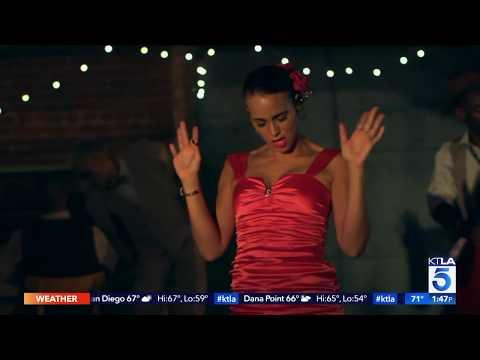 """""""Congo Cabaret' on KTLA 5 News at 3pm 3/9"""