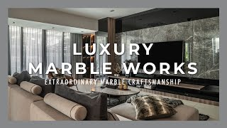 Craft Guild   Extraordinary Luxury Marble Craftsmanship in Interior Design by Nu Infinity