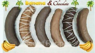 Бананы на бисквите в шоколаде. Как приготовить бананы в шоколаде