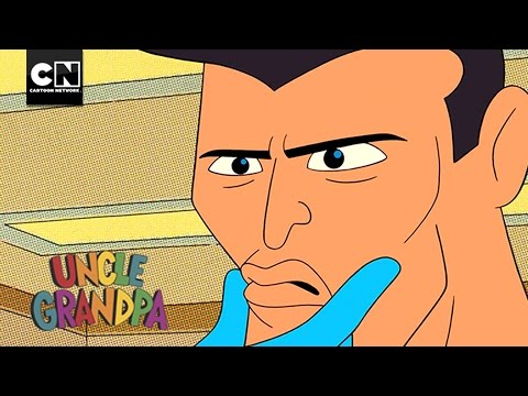 Weird Man Serves America! | Uncle Grandpa | Cartoon Network