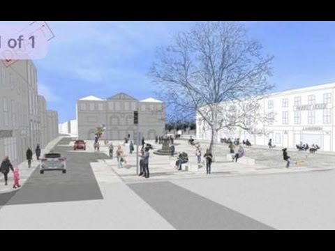 Proposed New Plan for Emily Square Athy