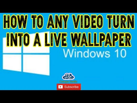 How to Any Video Turn into a live wallpaper in your ...