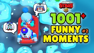 1001+ FUNNY MOMENTS of RO Subsribers 🌟 Brawl Stars 2021 Wins, Fails, Glitches & More (ep.2)