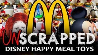UNSCRAPPED Disney McDonald's Happy Meal Toys