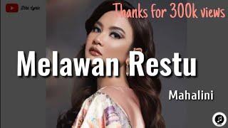 Download Mahalini ~ Melawan Restu (lirik)