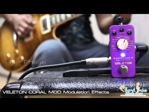 Review Valeton Coral Mod Modulation Effects by CT Music Shop