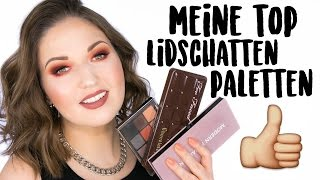 TOP 5 Lidschatten Paletten | Favorite Eyeshadow Palettes *English Subtitles*