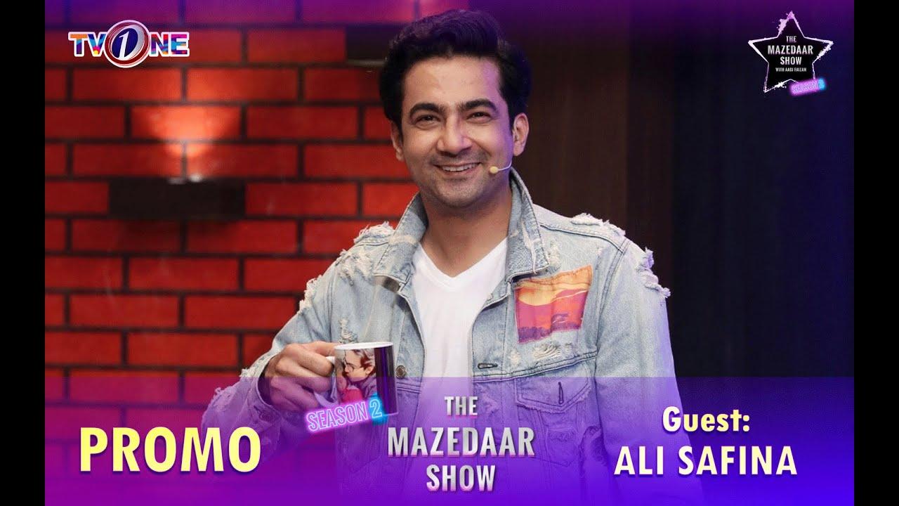 The Mazedaar Show with Aadi Faizan | Season 2 | Ali Safina | Promo