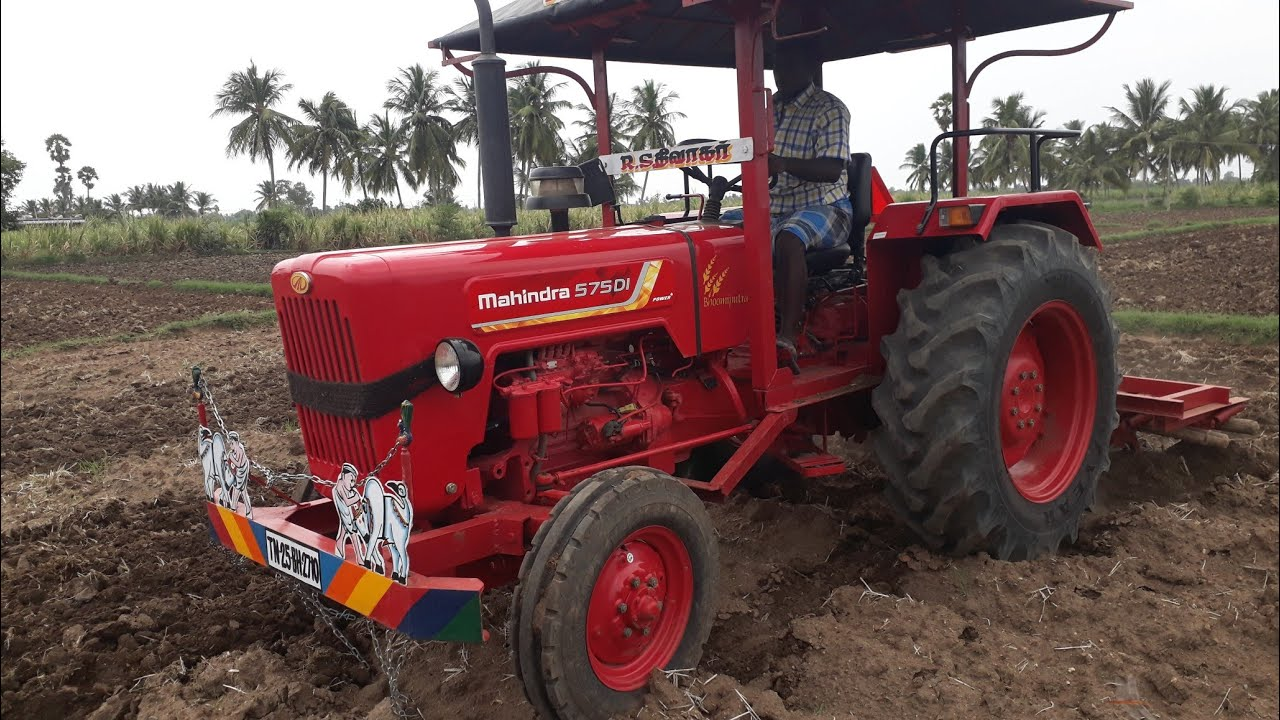 New Mahindra 575 di power plus / best mileage Tractor / 4 liter's per hour  / My village work