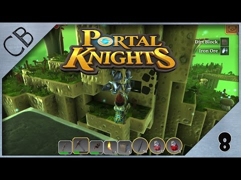 Portal Knights - Iron ore! - Ep 8