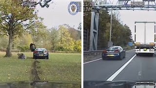 video: Watch: Drug dealers caught with £500k worth of cocaine after high-speed police pursuit