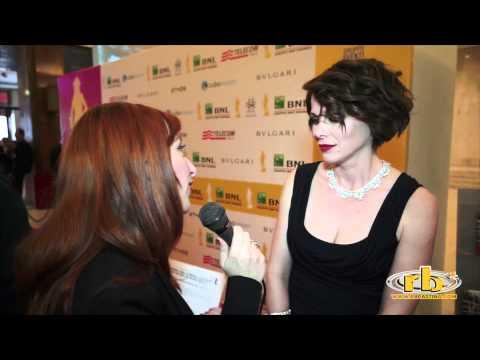 Barbora Bobulova  intervista David di Donatello 2012  WWW.RBCASTING.COM