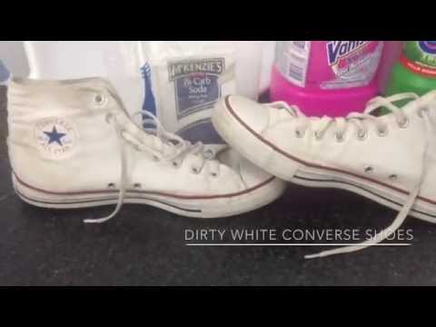 How To Clean And Whiten Converse