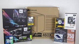 $1300 Gaming PC Build Time Lapse | April 2017
