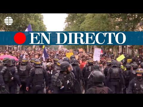 DIRECTO FRANCIA | Protestas en París contra el certificado Covid