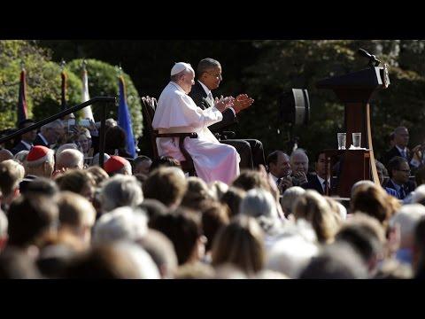 Nghi lễ đón tiếp Đức Thánh Cha tại Tòa Bạch Ốc