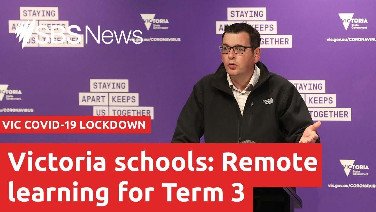 COVID-19: Victoria schools to go back online | SBS News