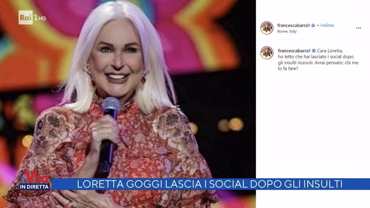 Download Loretta Goggi lascia i social dopo gli insulti - La vita in diretta 14/09/2021