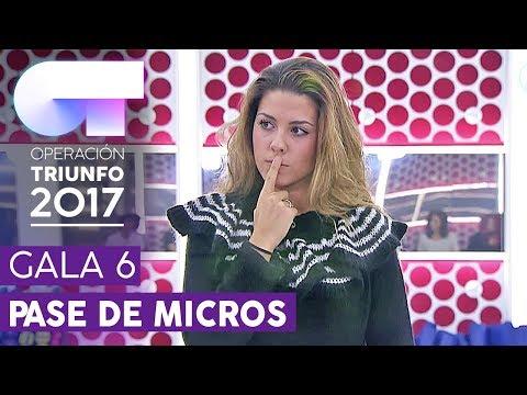 QUE TE QUERÍA - Miriam | Primer pase de micros para la Gala 6 | OT 2017