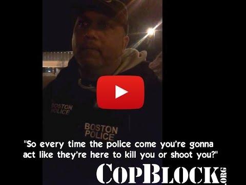 East Boston Cop Hates Cameras