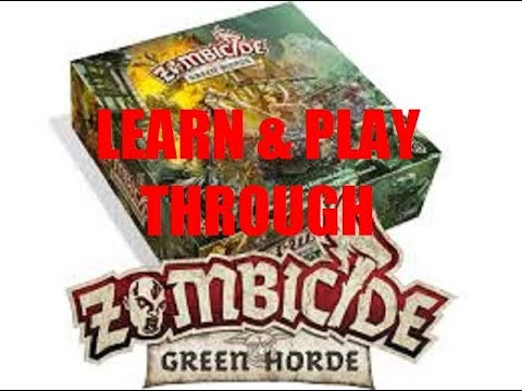 Zombicide: Green Horde - Learn by Watching QUEST 2