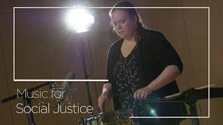 "Music for Social Justice | Episode II: Gwen Dease, Snare ""Rudimental"""