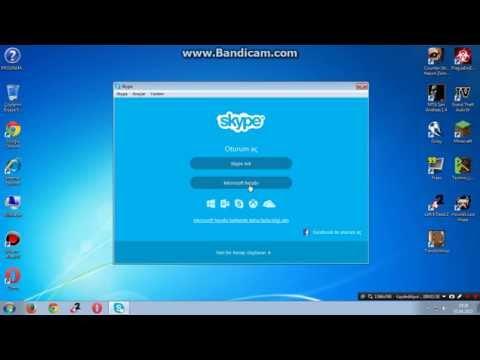 skype nasıl girlir