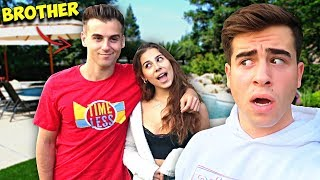 Letting My Brother Date My Girlfriend For 24 Hours.. *Gone Too Far*