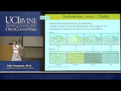 Earth System Science 1: Intro to ESS. Lecture 9. The Rock Cy