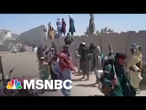 Former U.S. Ambassador To Afghanistan: U.S. 'Gave Up' On Afghan Government