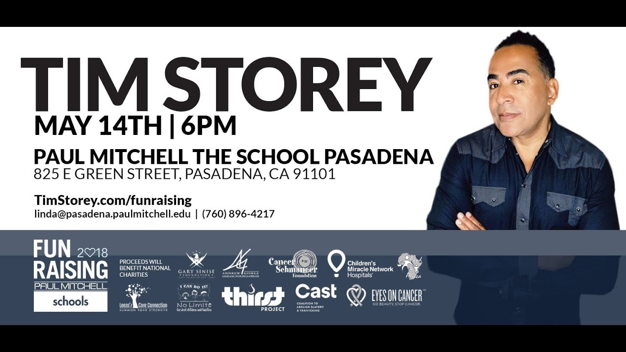 Tim Storey Live At Paul Mitchell The School In Pasadena Ca Youtube