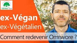 Ancien Végan ou Végétalien, comment redevenir Omnivore ? [2019]