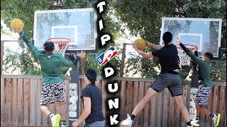 "THE ""TIP-DUNK"" CHALLENGE!"