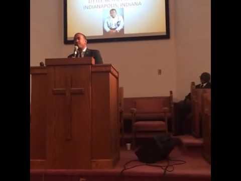 "Pastor Shalmon Radford: ""I need Rest"""