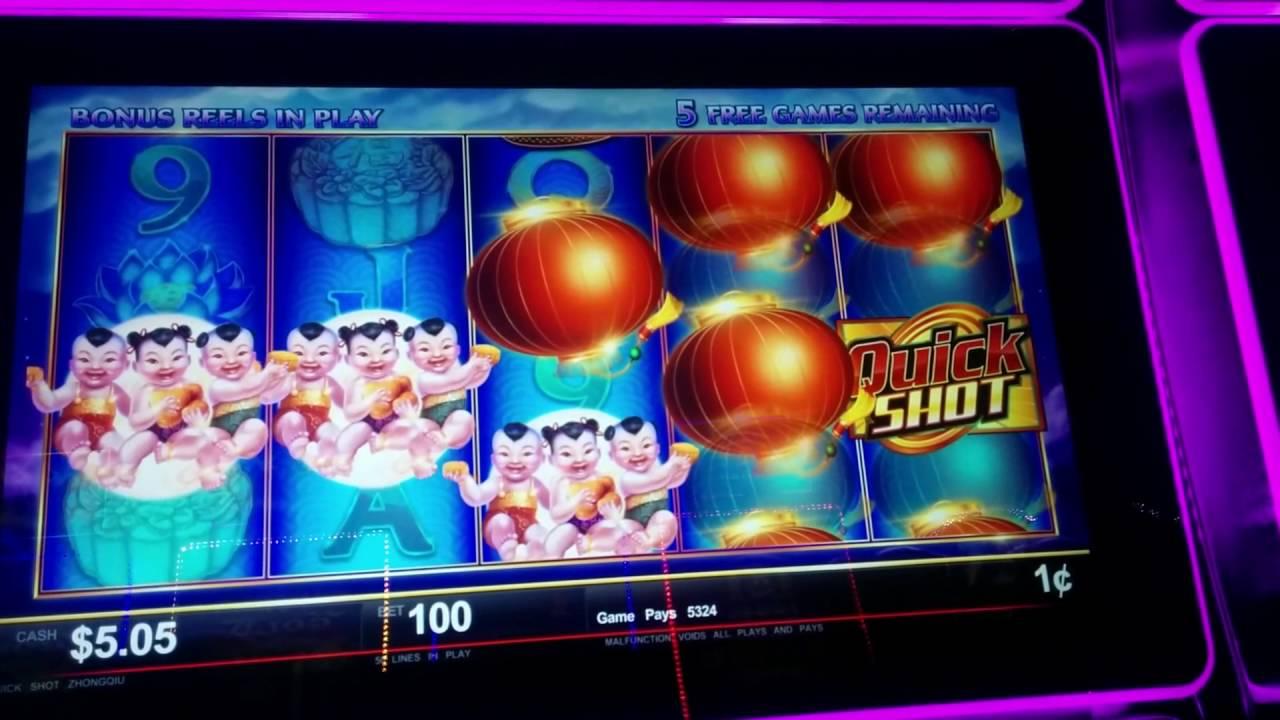 Quick Shot Slot Machine